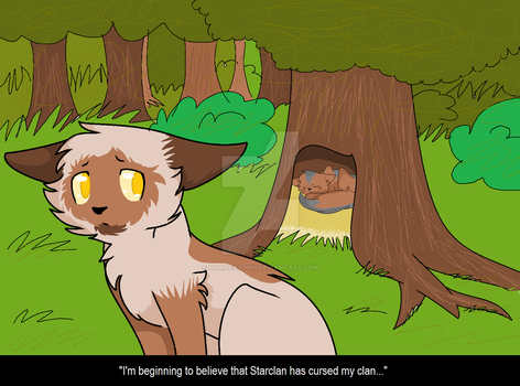 Warrior Cats Fan Fiction - Prologue - Scene by maracat0901