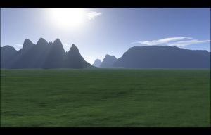 Green Pastures by avataria