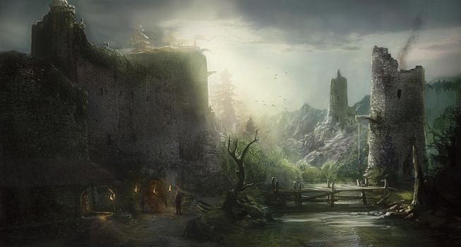 Castle by PapayouFR
