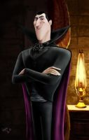 Dracula - Hotel Transylvania (Video link) by Ondjage