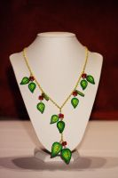 Leaf Necklace by Dimolicious