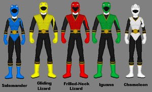 Request: Lizard Rangers by Soluna17