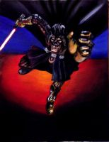 Dark Lord of the Sith In Action by SirGunky