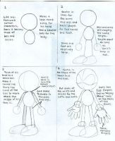 How To Draw Sonic 1 by CaribbeanPulse