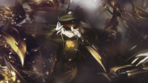 Wallpaper C4D Youjo Senki by Loleyke