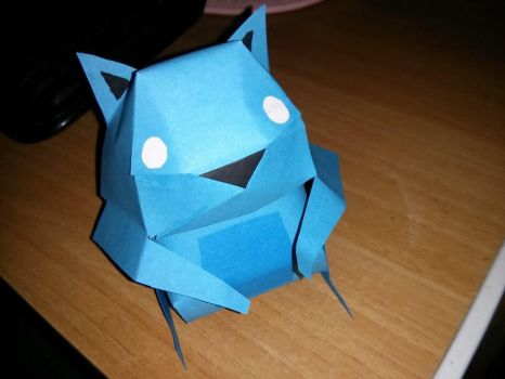Papercraft Squirrel by rith-sv