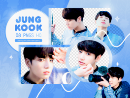 PNG PACK: JungKook #21 by Hallyumi