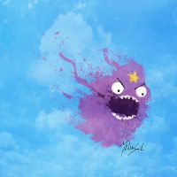 Adventure Time - Lumpy Space Princess by BOMBATTACK