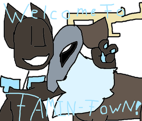 Welcome to Tamin-Town! by Knyo