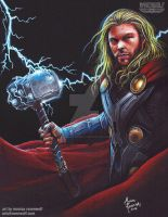 MIGHTY - Thor by The-Art-of-Ravenwolf
