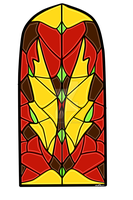 Stained Glass Background by Musing-Zero