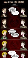 Silent Hill- Stop Copies Me by DoubleLeggy
