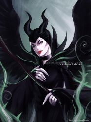 Maleficent by kccv