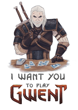 How about a round of GWENT? by Jakiron