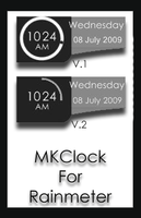 MKClock By Rainmeter by MetalKai