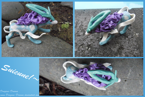 Suicune Sculpt by Dragina-Draona