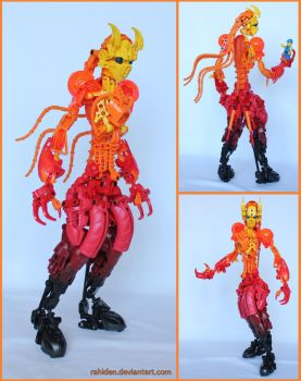 Bionicle MOC: Ember by Rahiden