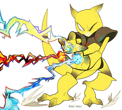 fire, ice and electric by MBLOCK
