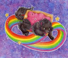 Nyan Cat by Shorty-Dee