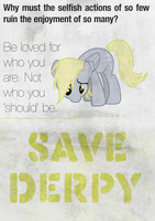 Save Derpy by Skeptic-Mousey