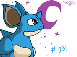 #031 Nidoqueen by SaintsSister47