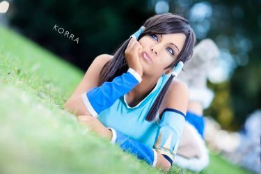 Legend of korra cosplay by AllyAuer