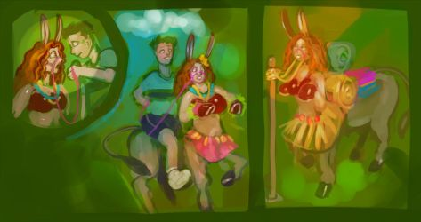 The Donkey Ladies Of Ono Island part 5 by engineskye