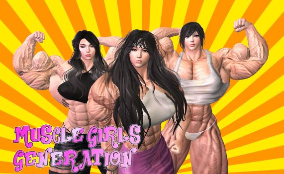 Muscle Girls Generation by devsir00
