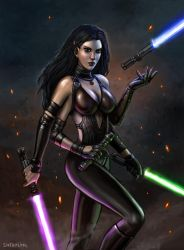 There Are 4 Lightsabers! by SirTiefling