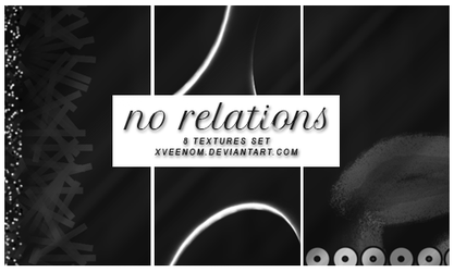 no relations textures set vol1 by xveenom