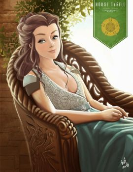Margaery Tyrell by 7thorserider