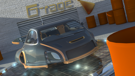 Flying Car: HD angle by BenSkylinegodzilla