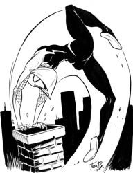 Spider Gwen by tombancroft