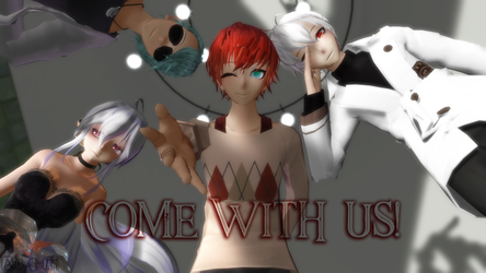 MMD Picture | Come with us! - Mystic Mesengger by NearDTH