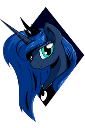 Princess Luna by VinaraMic