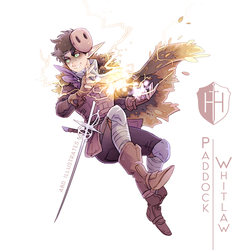High Hopes Low Rolls: Paddy Whitlaw [SPEEDPAINT] by ABD-illustrates