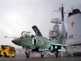 Yakovlev Yak-38MPK - Indian Navy INS Vikrant 1989 by Sport16ing