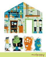 Monster Playspace by Montygog