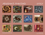 2013 Fractal Art Cover by BlurWing