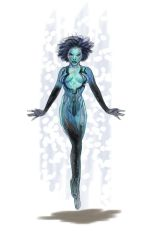 The Daily Cortana Sketch with Copic Markers by skycladstrega