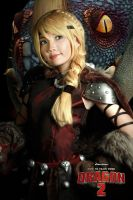 How to train your dragon 2 - Astrid by meipikachu