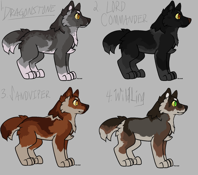 GAME OF THRONES THEMED ADOPTS by e-merging