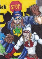 Bluntman and Chronic by 5sidedfistagon