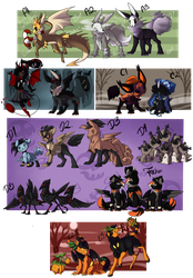 PKMN:: Halloween Clutches Pt.1 { Closed} by CollyWobblies