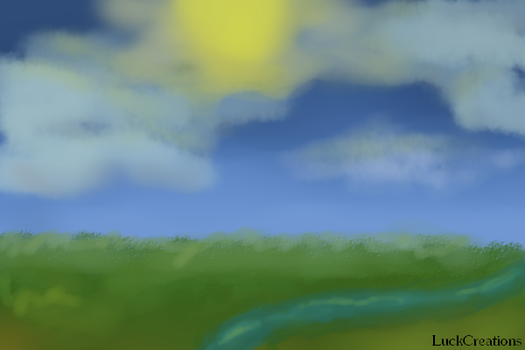 Plain landscape by LuckCreations