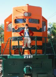Im the king...of the train?? by 1Nexer1