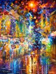 The Colors Of Paris by Leonid Afremov by Leonidafremov