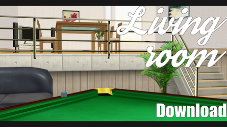 |MMD|Living Room Download by Dastezi