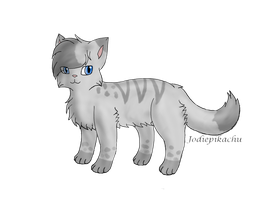 Warrior Cats Ashfur by jodiepikachu