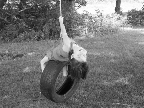 Tire swing kid 4 by GuardiansParadise